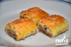 Hazır Yufka İle Kolay Baklava Tarifi - Nefis Yemek Tarifleri    http://www.nefisyemektarifleri.com/hazir-yufka-ile-kolay-baklava/#