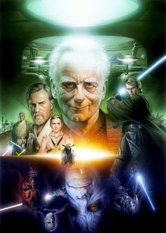 I'm confused, if it's supposed to be good guys on top and bad guys on top then why is senator palpatine on the top? He never was good. Also Darth Vader is missing. I think this is making me more mad than it should.
