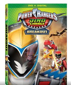 Free Printable! Power Rangers Dino Charge Break Out