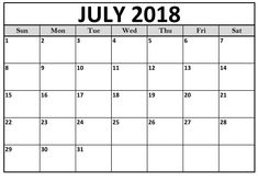 july 2018 hd calendar july 2018 calendar pdf word excel vertical and landscape