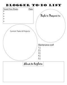 Pretty Providence | Blog: To Do List and other Printables