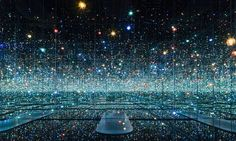 Yayou Kusama's Infinity Mirrors at the Broad.