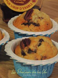 Petit Bec Gourmand: Tabernacle ! , mais c'est des Muffins Sirop d'érable et Noix de Pécan, pépites de chocolat !