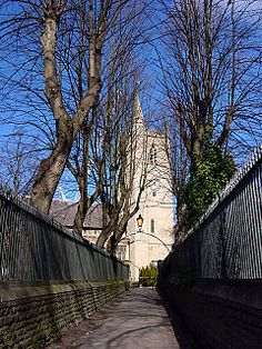 The Priory Church of St James, Bristol (grid reference ST588734), is a Grade I listed building[1] in Horsefair, Whitson Street. It was founded in 1129 as a Benedictine priory by ROBERT, EARL OF GLOUCESTER, the illegitimate son of Henry I.