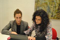 Primer día Ángela-Programa Actívate Google