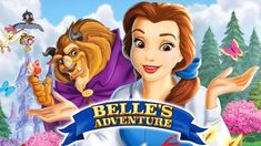 Beauty And The Beast Belle'S Adventure, join Belle as she talks to characters while collecting objects to solve puzzles and mini games in this interactive retelling of events from the classic film. Princess Games, Princess Zelda, Mini Games, Retelling, Classic Films, Rapunzel, Beauty And The Beast, Puzzles, Have Fun