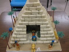 Best Photos of Egyptian Pyramids School Projects - Grade School Project Pyramid, Ancient Egypt Pyramids School Projects and Pyramid Project Ideas Ancient Egypt Pyramids, Ancient Egypt Crafts, Ancient Egypt For Kids, Egyptian Crafts, Pyramids Of Giza, Social Studies Projects, Science Projects, School Projects, History Projects