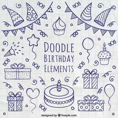 Bullet Journal Doodle birthday elements free vectors Toilet Seat Covers And How They Can Protect You Doodle Bullet Journal, Birthday Bullet Journal, Doodle Art Journals, Bullet Journal Inspo, Journal Art, Birthday Drawing, Birthday Doodle, Birthday Cards, Birthday Icon