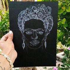 Im in Bali, so i couldnt resist the background!! Work in Progress, Frida will be finished tonight! its my goal! Stay tuned:=) #fridakahlo #frida #portrait#bali#nusalembongan#indonesia#brows#royalartfeatures#art_legendary#goodmorningart#magicgallery#theartshed#instafineliner#artbynights#art_conquest#art.academy#artfeedr#artsbeautifulx#_tebo_#blackandwhite#bnw#monochrome#ink#inkart#geometric#sketch#lineart#sketchbook#illustrationage#whiteink