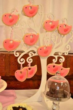 arboles con cookies I Party, Birthday Parties, Candy, Anniversary Parties, Birthday Celebrations, Candy Bars, Sweets