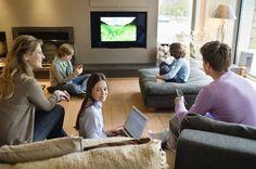 Ideas para los salones familiares - http://www.decoora.com/ideas-decorar-salones-familias/