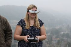 When drones and virtual reality come together in an out-of-body experience   First-person-view drones, or FPV drones, operate a little differently from the hobby drones you most often hear about in the news. They're operated by relaying the video stream from the drone's camera into a pair of virtual reality goggles, instead of piloting the device by just watching it in the sky.