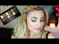 Maybelline The Nudes Palette Tutorial ♥