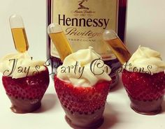 double yum.  I don't drink Hennessy but I love the idea