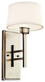Quinn Wall Sconce - modern - wall sconces - by Lumens
