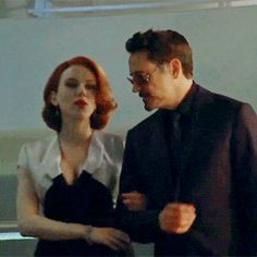 Natasha + Tony (I can't help it; I love this pair)