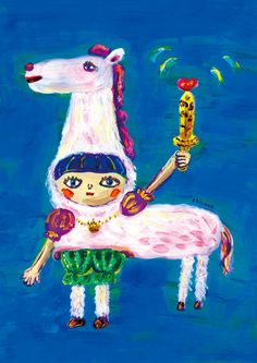 """Prince of white horse"" / Kayako Tochi"