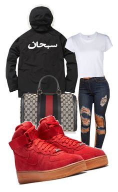 """""""Untitled #180"""" by iamtinaa on Polyvore featuring Gucci and RE/DONE"""