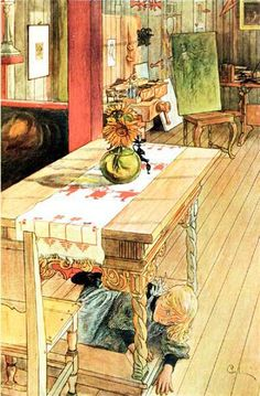 Carl Larsson.  He understood country living.