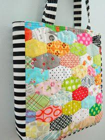 s.o.t.a.k handmade: lozenges tote bag