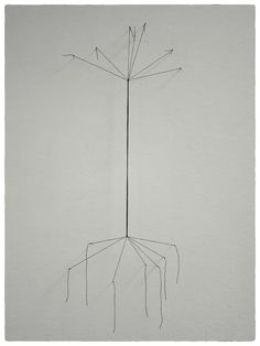 thread-sketch   draad-schets2015, 50 X 90 cm, thread & pins   draad & spelden 3 photo's© Maarten Brinkman