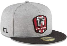c2206d41 Atlanta Falcons New Era NFL Gold Collection On Field 59FIFTY Cap ...