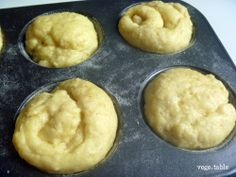 vegeintable: Morning Sweet Bread (After Leavening)