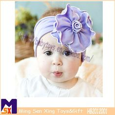 increble prpura beb elstico hairband flores elsticos hairbands del beb