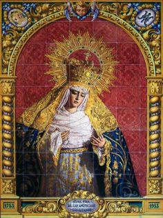 Virgen de los Gitanos - Virgen de las Angustias, Sacro Monte - Granada.