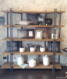 libreria da soggiorno ferro e legno | ESTANTES | Pinterest | Work ...