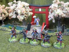 Kingsford Reference Images, Minis, Samurai, Miniatures, Range, Japanese, Models, Painting, Inspiration