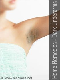 Home Remedies for Dark Underarms / Dark Armpits