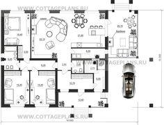 Поэтажные планы проект дома 27-13 общ. площадь 146,50м2