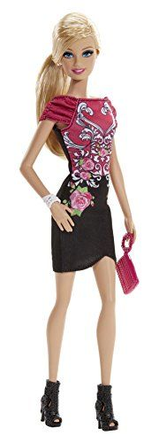 Barbie Fashionistas DollBarbie has big plans for a fabulous summer: glam parties garden parties and fun in the sun - sometimes all in one! Dressed in pretty party dresses and flowery and tropical pri...