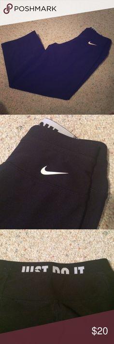 Nike yoga/athletic pants Nike yoga/athletic pants. Worn once. Nike Pants