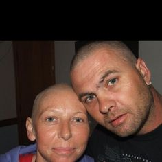 My dad and step mum who is battling cancer <3