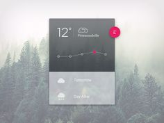 Weather Material Design