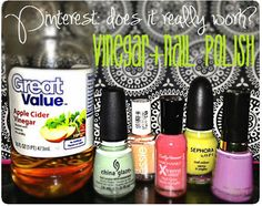Pinter-Test: Does Vinegar Really Make Your Manicure Last Longer? - The Budget Babe