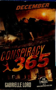 December  Gabrielle Lord Conspiracy 365 series young adult used paperback 1st ed