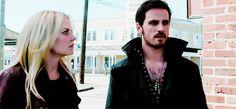 Colin O'Donoghue - Killian Jones -Captain Hook - Jennifer Morrison - Emma Swan - Once Upon A Time 4x1