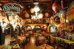 """Pericos in old downtown Cancun , Mexico... Love the food, the waiters, the bartenders, the band, the entertainment!  My absolute favorite restaurant... and it was within walking distance from our """"apartment""""/hotel/living quarters...whatever"""