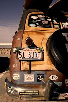 Get out there and surf.