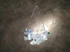 Collana pesci Ilaria Bicchi dipinta a mano e plastificata di IAIOI