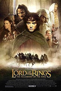 """The Lord of the Rings: The Fellowship of the Ring (""""It comes in pints?!"""")"""