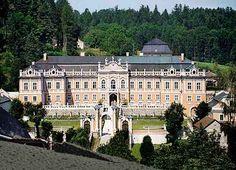 Moravian castle Nové Hrady, Czechia