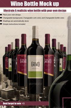 luxury Bottle Mock Up