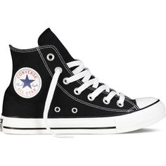 Converse Chuck Taylor All Star Classic Colors – black Sneakers ( 55) ❤  liked on 3df1b38fed1