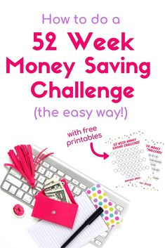 Fifteen 52 Week Money Saving Challenges (something for every budget!) - Check out these 52 week money saving challenges! No matter your budget, these weekly, biweekly, or - Weekly Savings Plan, Monthly Budget, Sample Budget, Budget Help, Monthly Expenses, 52 Week Money Challenge, Savings Challenge, Challenge Ideas, Planning Budget