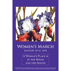 A Women's Place is in the House and the Senate Download and print: http://www.sarasteele.com/womens-march-posters.html