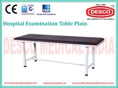 Medical Hospital Examination Couch Tables are manufactured with good quality material and are available at affordable prices by Desco India. They have a complete control on product pricing from raw material, manufacturing and packing till transportation.